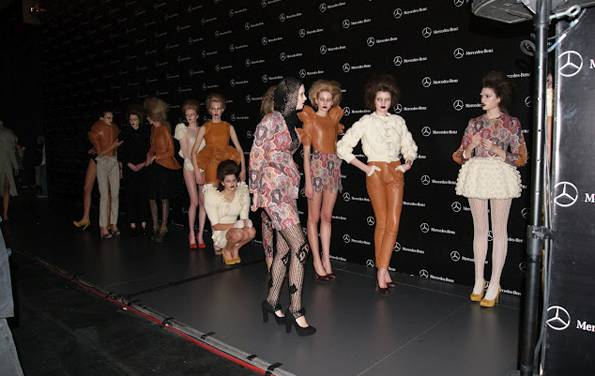 MBFW Backstage Leandro Cano AW 2012-2013