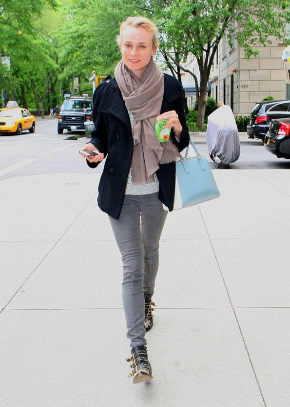 Diane Kruger in Midtown