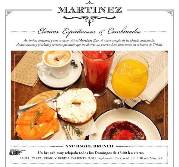 Martinez brunch