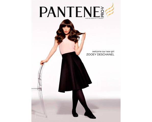 Zooey Deschanel For Pantene