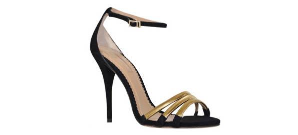 Sandalias negras de Aquazurra para 24fab