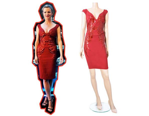 Brooklyn Decker de Antonio Berardi y vestido de Antonio Berardi para 24fab