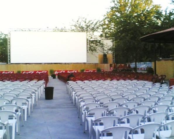 Cine de verano, Príncipe Pío
