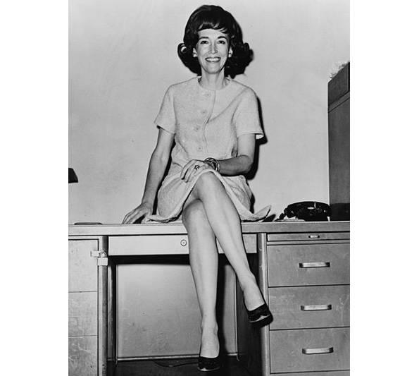 Helen Gurley Brown, en 1962