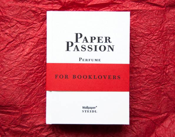 Paper Passion: eau de libro por Karl Lagerfeld