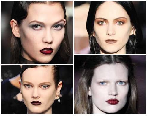 De izquierda a derecha y de arriba abajo: Victor&Rolf, Givenchy, Bottega Veneta y Gucci