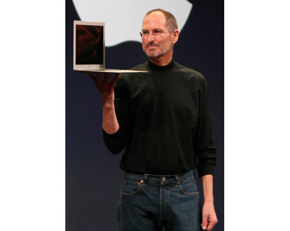 Steve Jobs, en 2008