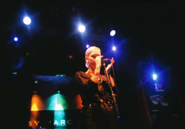 Pixie Geldof, en vivo y en directo