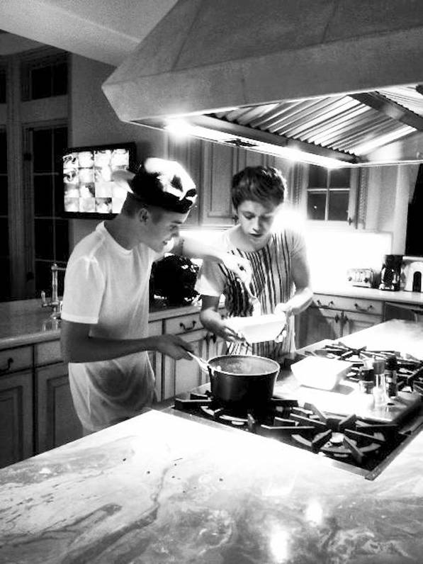 Justin Bieber Niall Horan