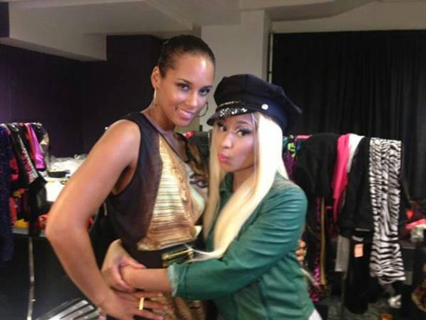 Alicia Keys Nicki Minaj