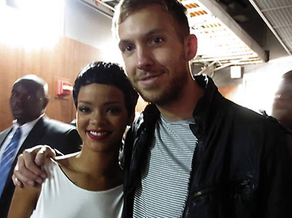 Rihanna y Calvin Harris
