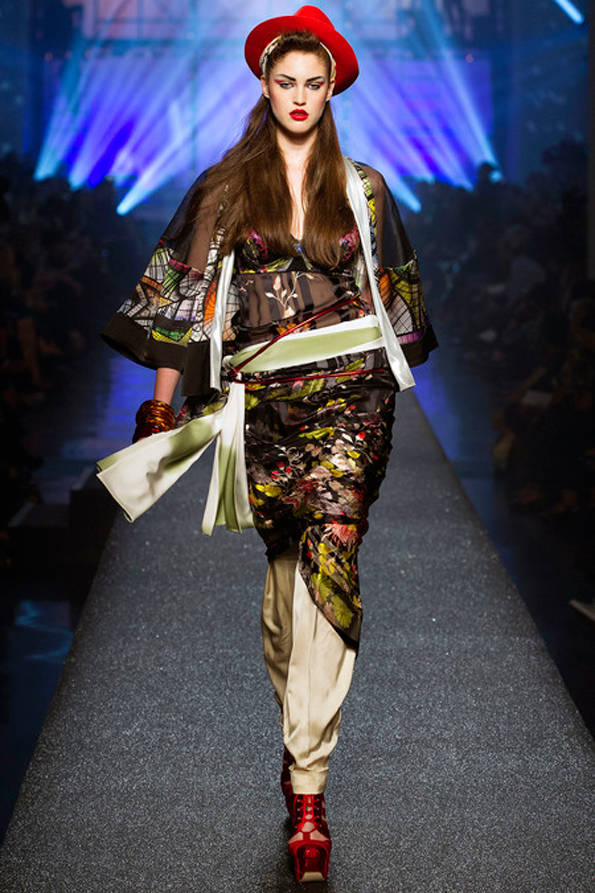 Fotos del desfile colección primavera-verano 2013 Jean Paul Gaultier