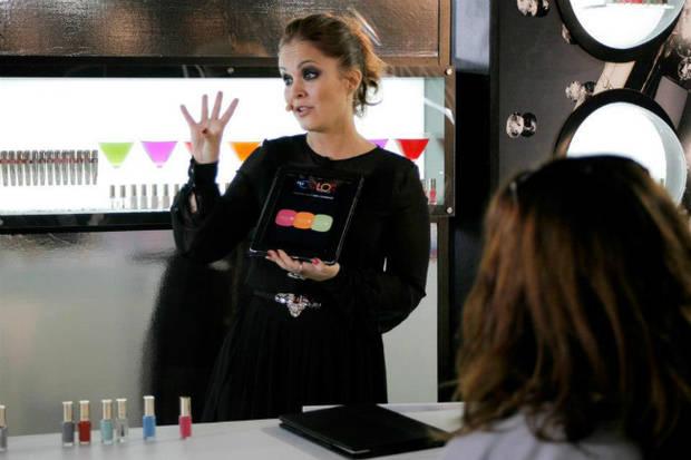 La estilista Anitta Ruiz explica Color Genius en Madrid Fashion Week