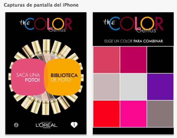 Color Genius app