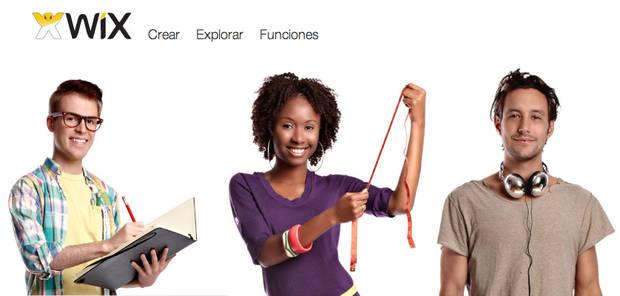página web con WIX