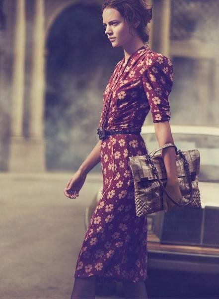 Campaña de Bottega Veneta por Peter Lindbergh