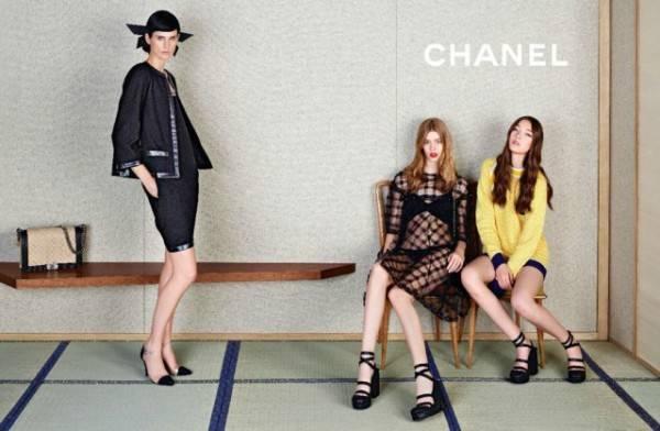 Campaña de Chanel por Karl Lagerfeld