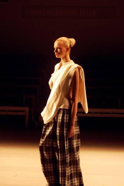 Corrie Nielsen en la London Fashion Week