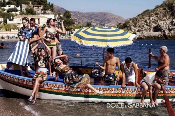 Campaña de Dolce & Gabbana por Domenico Dolce