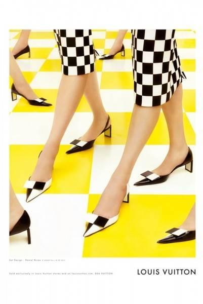 Campaña de Louis Vuitton por Steven Meisel