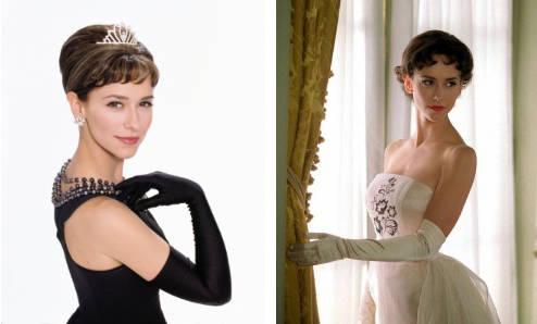 Jennifer Love Hewitt como Audrey Hepburn