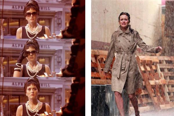 Leighton Meester como Audrey Hepburn