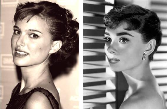 Natalie Portman, heredera de Audrey Hepburn