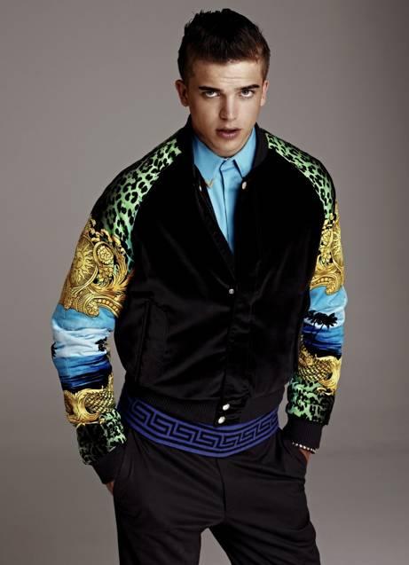 River Viiperi para Versace H&M