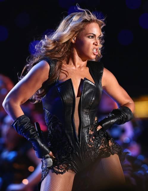 Beyoncé vestida de Rubin Singer