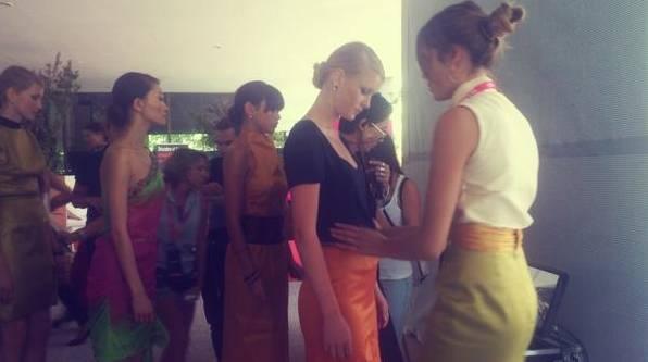 Pasada edición Xperia Fashion de @MFShow_News