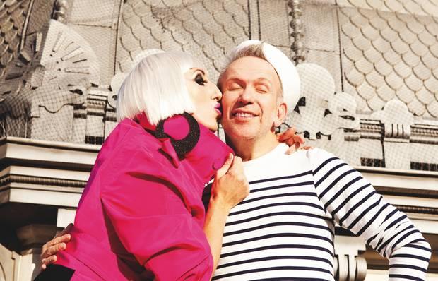 Rossy de Palma y Jean Paul Gaultier para Vanidad