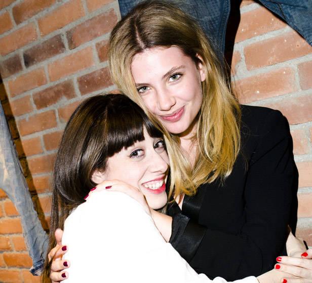 Natalia Ferviú y Miriam Giovanelli