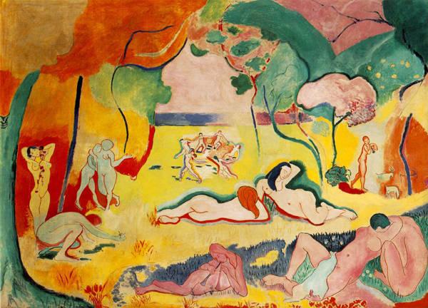 La alegria de vivir, de Matisse