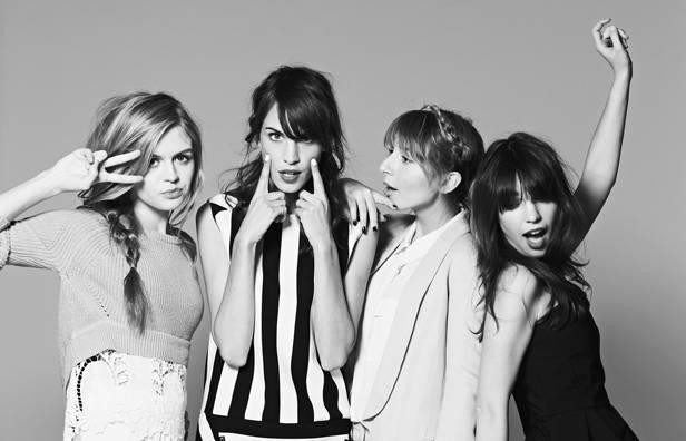 Katerina, Alexa, Parisa y Cynthia