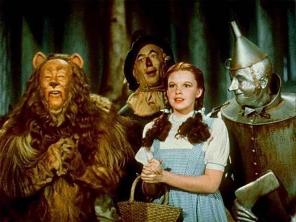 Protagonistas del Mago de Oz