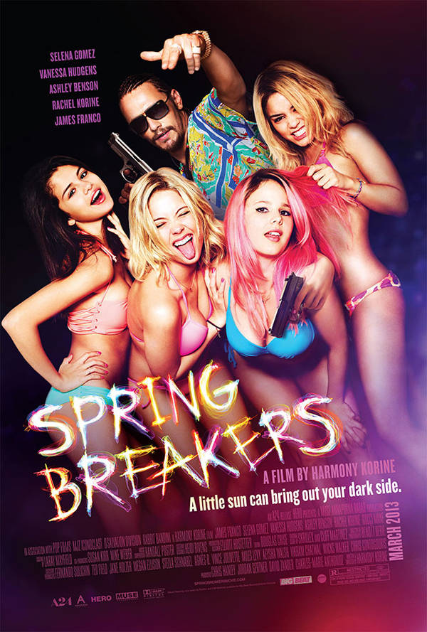 Cartel de Spring Breakers