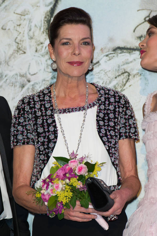 Carolina de Mónaco vestida de Chanel