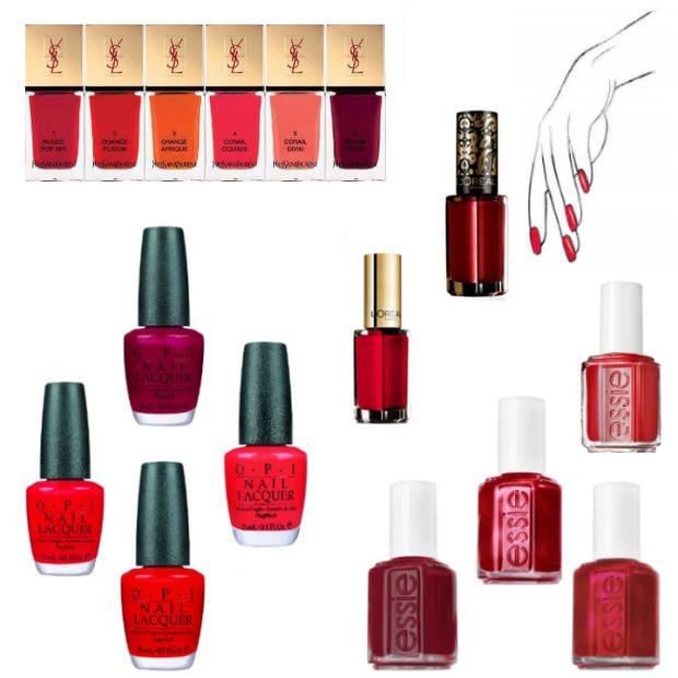 bazar manicura rouge