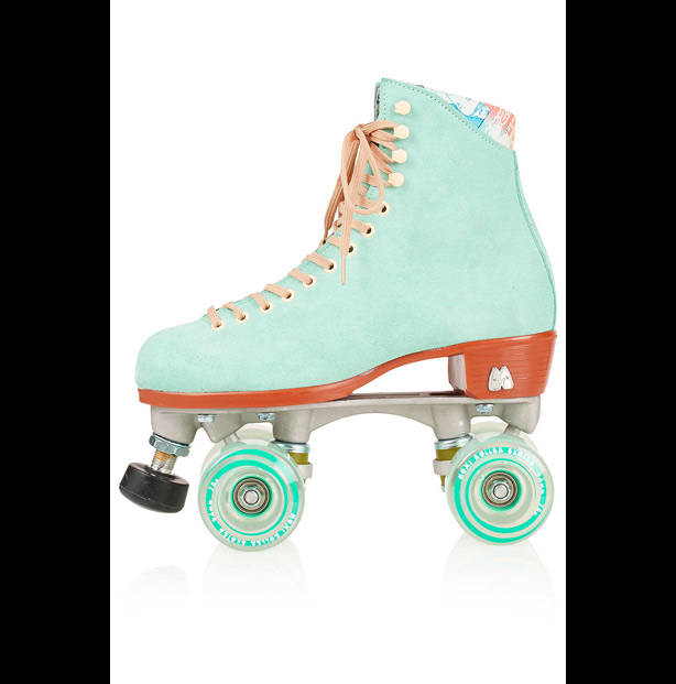 Patines customizados de Moxi Roller Skates