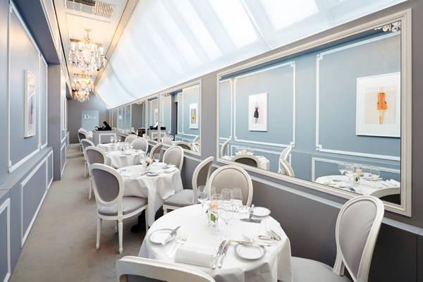 Café Dior en Harrods