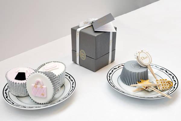 Los cupcakes creados por Dior