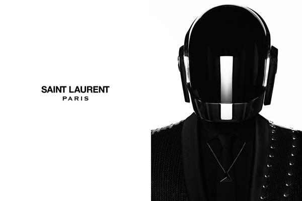 Slimane y Daft Punk para Saint Laurent