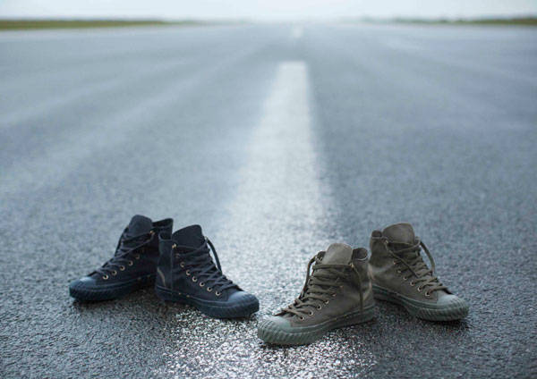 String Collection de Nigel Cabourn para Converse