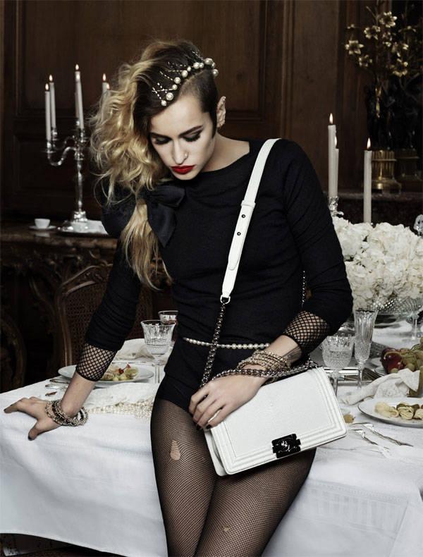 Alice Dellal para Chanel