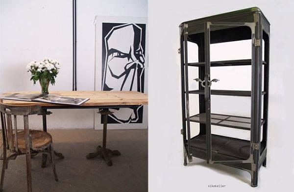 Alguno de los muebles que puedes encontrar en Kikekeller