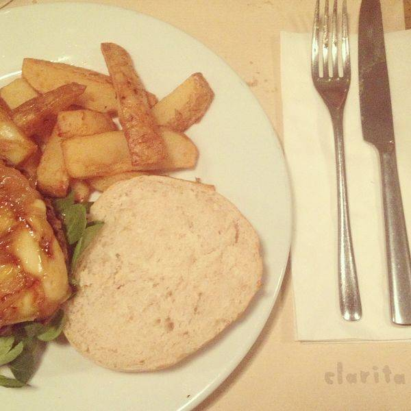 Hamburguesa gourmet Clarita
