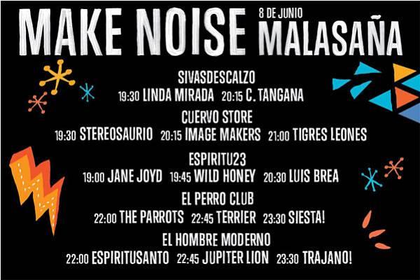 Horarios de los conciertos de este finde en Malasaña