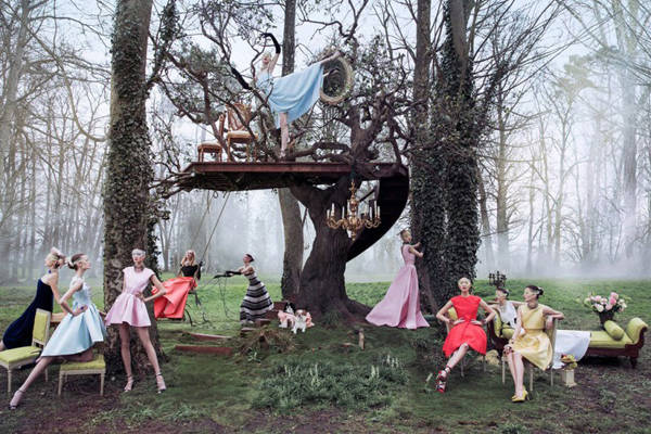 El jardín secreto de Christian Dior