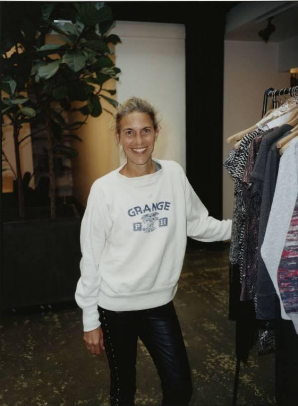 La diseñadora Isabel Marant