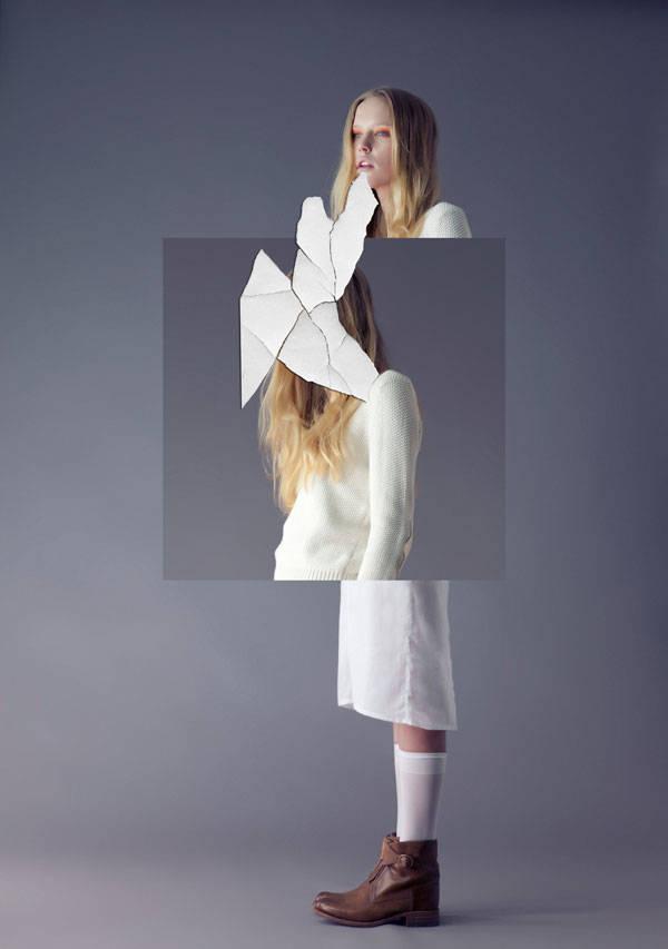 Falda de Victor Von Schwarz Jersey de Marie&Sixtine Zapatos de Sendra Calcetines de Calcedonia